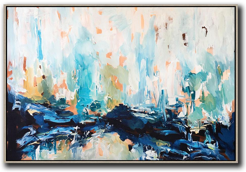 After The Fall - 150x120 cm - Original Painting