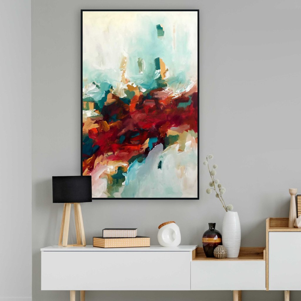 Inferno 3 - 122x76 cm - Original Painting