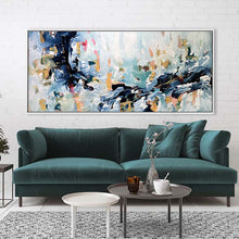 Load image into Gallery viewer, The Flow Of The River - 180x80 cm - Original Painting