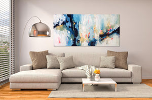 Summer House - 150x76 cm - WIN This Artwork-OmarObaid.com