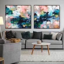 Load image into Gallery viewer, Adapting To The Unknown - 204x92 cm - Diptych Original Painting
