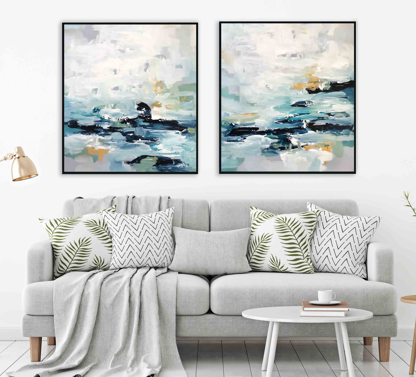 Epiphany X - Diptych 180x102 cm - Original Painting
