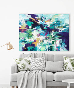 The Finer Things I - 76x102 cm - Original Painting-OmarObaid.com