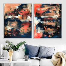 Load image into Gallery viewer, The Untold Story - 160x102 cm - Diptych Original Paintings