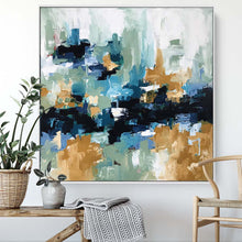 Load image into Gallery viewer, Flashback - 102x102 cm - Original Painting