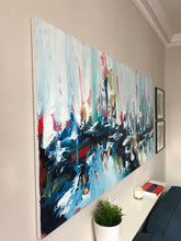 Load image into Gallery viewer, Under The Surface - 180x90 cm - Original Painting-OmarObaid.com