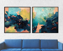 Load image into Gallery viewer, Lost In Time Diptych - 204x102 cm - Original Painting