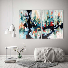 Load image into Gallery viewer, Questioning Reality - 152x102 cm - Original Painting-OmarObaid.com