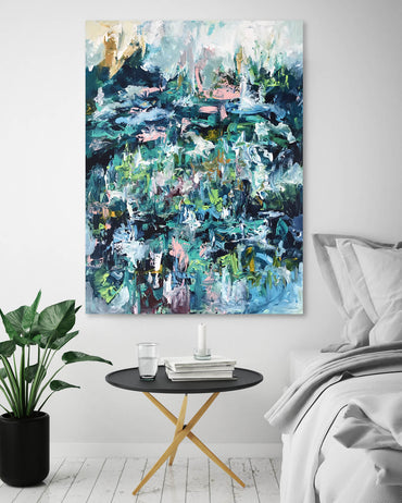 Crowded Place- 76x102 cm - Original Painting
