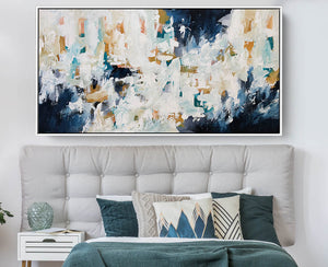 The Essence Of Time 2 - 152x76 cm - Original Painting