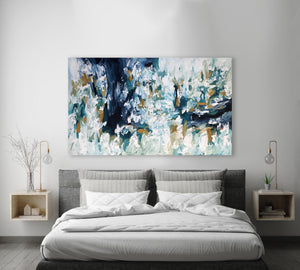 Time Flies - 152x90 cm - Original Painting