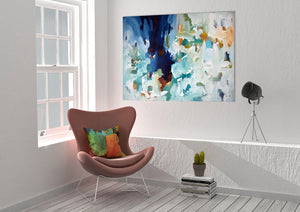 Reflections Part 2 - 102x76 cm - Original Painting