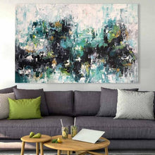 Load image into Gallery viewer, Unsung 2 - 152x102 cm - Original Painting-OmarObaid.com