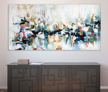 Load image into Gallery viewer, Decoherence - 152x76 cm - Original Painting-OmarObaid.com