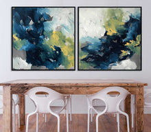 Load image into Gallery viewer, Turning Tide Diptych - 204x102 cm - Original Painting