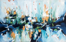 Load image into Gallery viewer, Hanging Gardens 2 - 152x92 cm - Original Painting-OmarObaid.com
