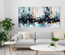 Load image into Gallery viewer, Silent Poet 2 - 152x76 cm - Original Painting