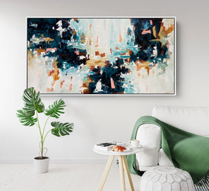 Blurred Emotions - 152x76 cm - Original Painting