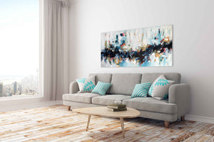 Once Upon A Time - 152x76 cm - Original Painting