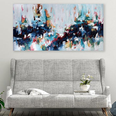 Once Upon A Time 2 - 152x76 cm - Original Painting