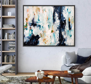 The Essence Of Time - 122x90 cm - Original Painting