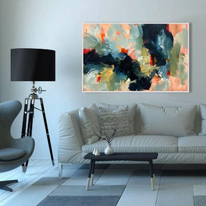 The Long Road 2 - 117x76 cm - Original Painting