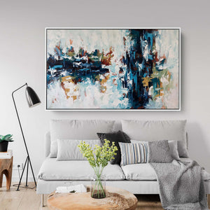 The Waterfall 3 - 152x92 cm - Original Painting