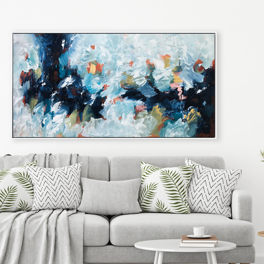 The Long Road 3 - 152x76 cm - Original Painting