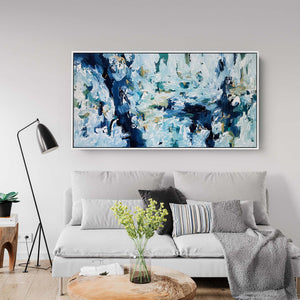 Silent River - 152x76 cm - Original Painting