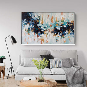 The Lake House 2 - 152x92 cm - Original Painting