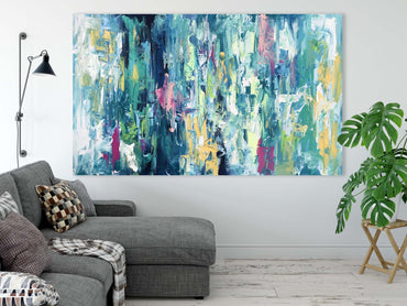 Beneath The Stars - 152x90 cm - Original Painting