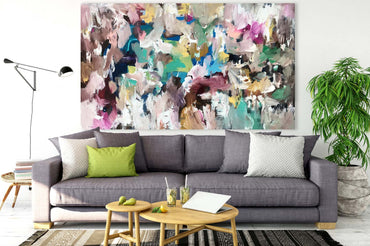 Abstract Spirit - 152x90 cm - Original Painting