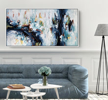Load image into Gallery viewer, The Waterfall 2 - 152x76 cm - Original Painting