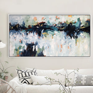 Unknown Yet Familiar - 152x76 cm - Original Painting