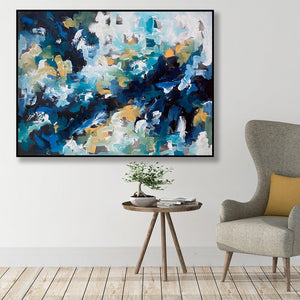 Edge Of Time - 122x92 cm - Original Painting