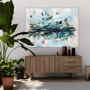 The Pond - 122x90 cm - Original Painting