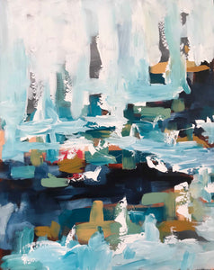 The Harbour - Original Painting