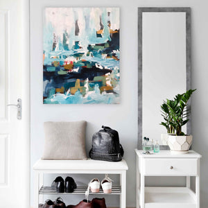 The Harbour Part 2 - 76x60 cm - Original Painting