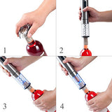 Secura Stainless Steel Electric Wine Bottle Opener with Foil Cutter (Stainless Steel)