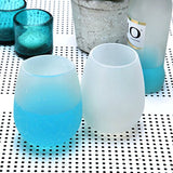 Silicone Wine Glasses for Camping Unbreakable Wine Cups, Set of 4
