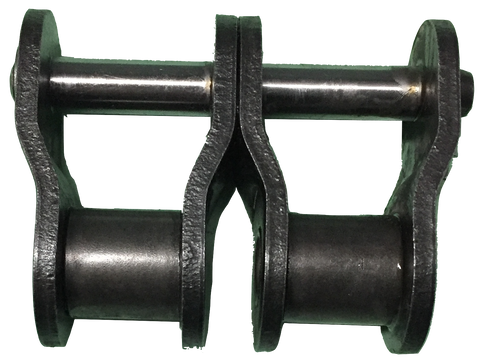 "2-Strand #100 Standard Roller Chain Offset Link (1 1/4"" Pitch) - Froedge Machine & Supply Co., Inc."