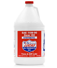 Lucas Synthetic 75W-90 Gear Oil, 1 GL