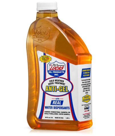 Lucas Anti-Gel Cold Weather Diesel Treatment, 64 Oz