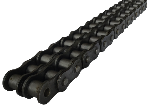 "10B 2-Strand British Standard Chain (5/8"" Pitch) - Froedge Machine & Supply Co., Inc."