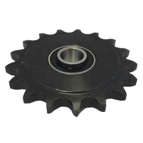 "16B335 17-Tooth, 50 Standard Roller Chain Idler Sprocket (1/2"" Bore)"