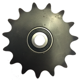 "16B336 15-Tooth, 60 Standard Roller Chain Idler Sprocket (1/2"" Bore) - Froedge Machine & Supply Co., Inc."