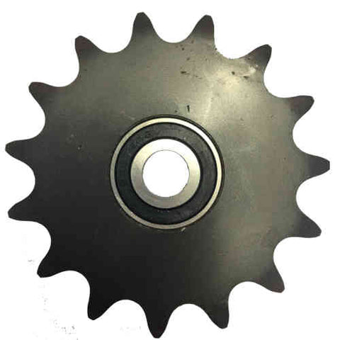 "16B336 15-Tooth, 60 Standard Roller Chain Idler Sprocket (1/2"" Bore)"