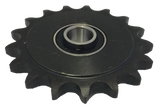 "16B335 17-Tooth, 50 Standard Roller Chain Idler Sprocket (1/2"" Bore) - Froedge Machine & Supply Co., Inc."