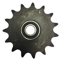 "16B346 15-Tooth, 60 Standard Roller Chain Idler Sprocket (5/8"" Bore) - Froedge Machine & Supply Co., Inc."