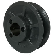 "1VP62X118 1-Groove 4L/5L/A/B/5V Series Variable Pitch Pulley (1 1/8"" Bore) - Froedge Machine & Supply Co., Inc."